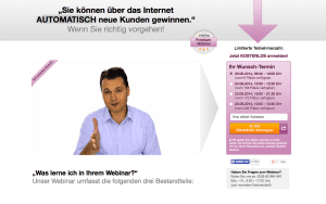 Videolandingpage
