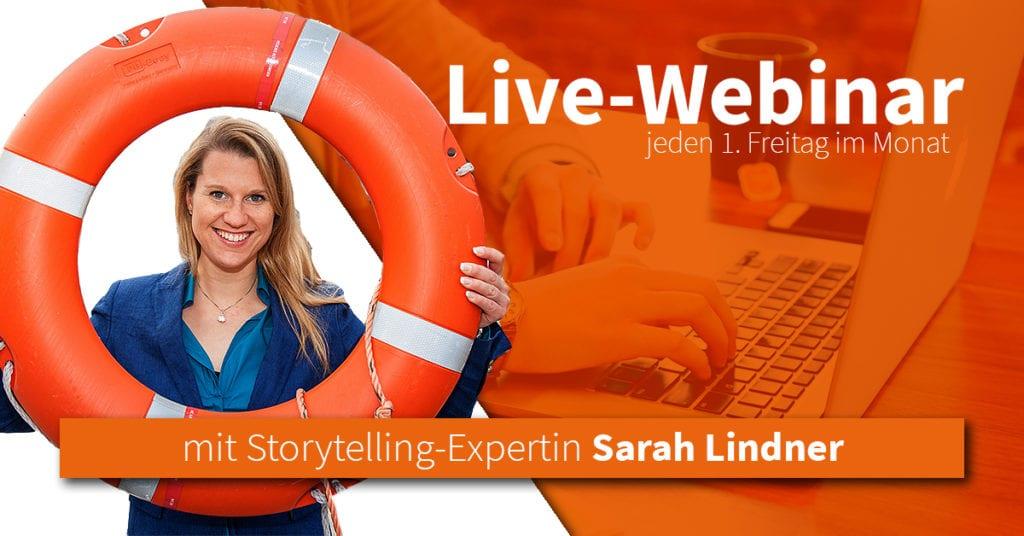 Im Live-Webinar lernen Sie, wie Sie Ihre Sichtbarkeit mit Videomarketing erhöhen