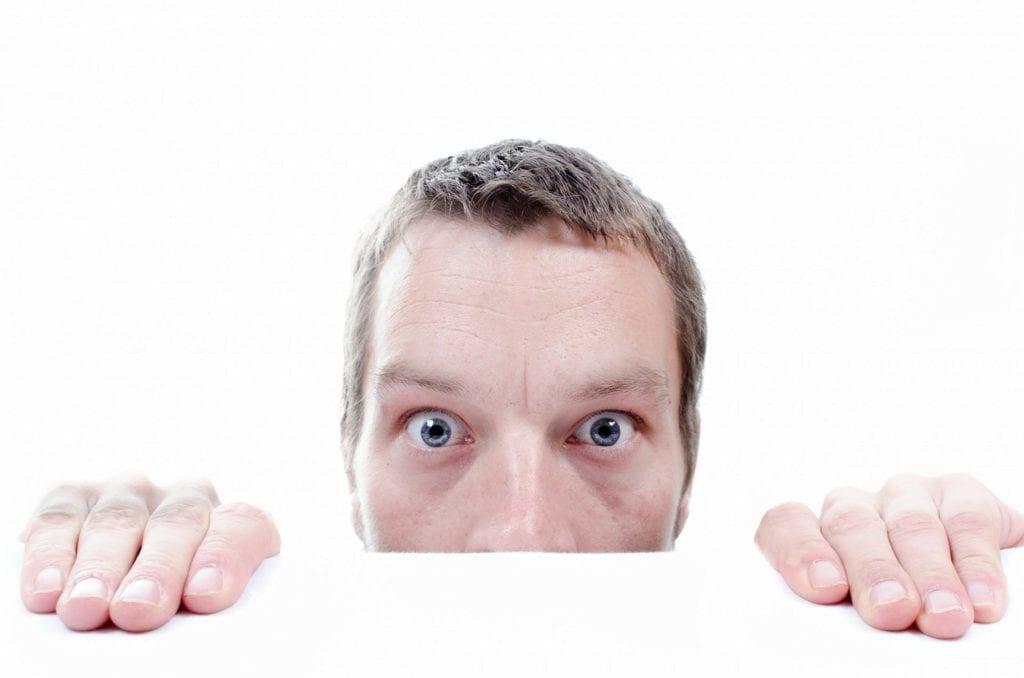 Vor lauter Angst verstecken viele Unternehmer ihre Sichtbarkeit.
